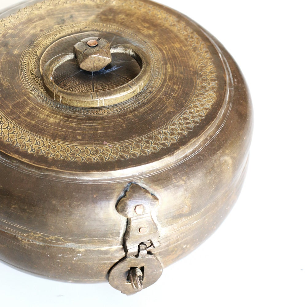 Image of Indian Brass Pot