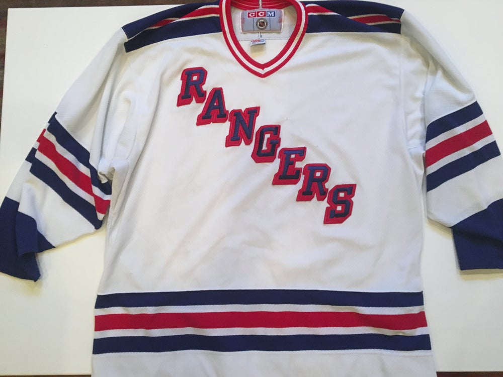 Image of Authentic Vintage CCM NY Rangers Jersey