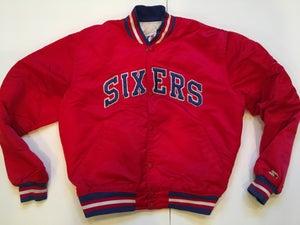 Image of Philadelphia 76ers Vintage Starter Jacket