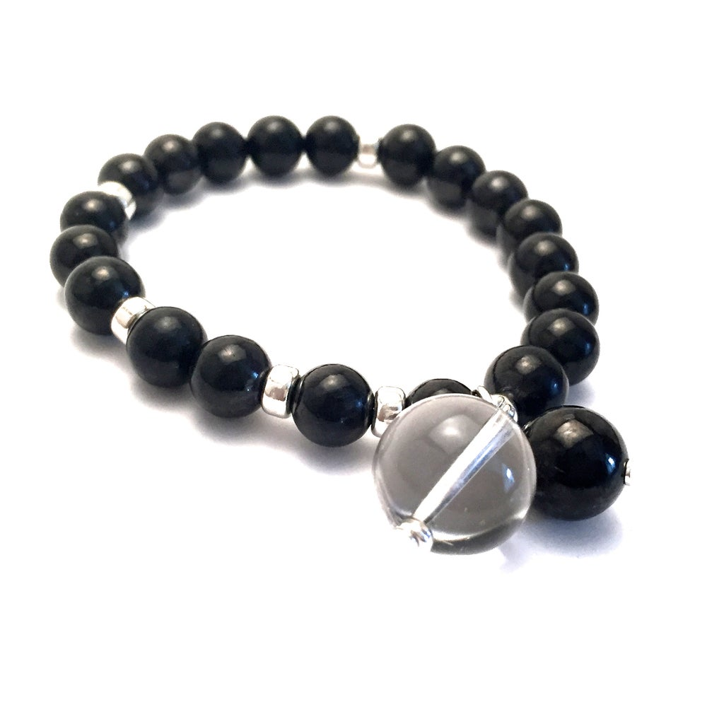 Image of Grounded & Clear Wrist Mala