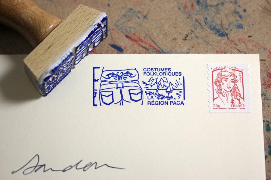Image of Flamme postale: la région Paca