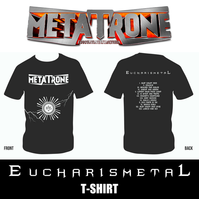 Image of EUCHARISMETAL T-SHIRT