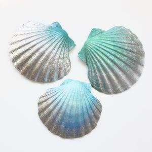Image of Spirit Shells - Aqua / Silver Tones SOLD OUT