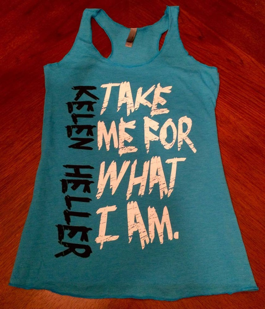 "Image of New Ladies/Girls ""So Deserving"" Lyric Tank"