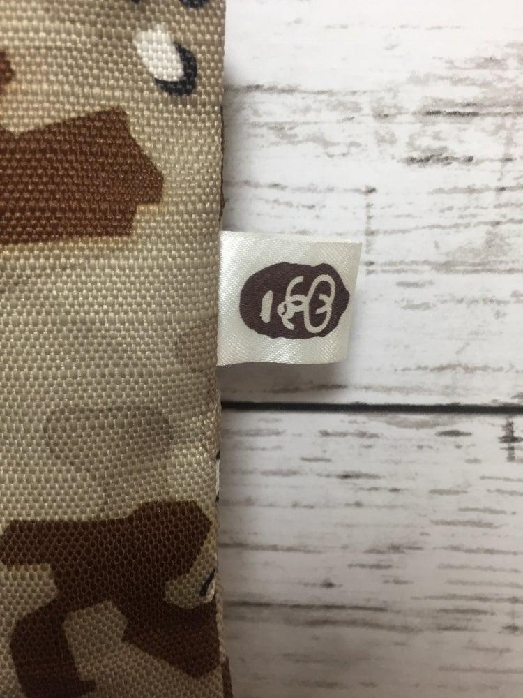 Image of BAPE x Stussy Desert Camo Tote Bag