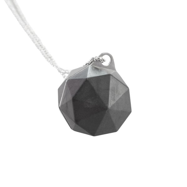 Image of Eva Necklace Charcoal - Original Collection