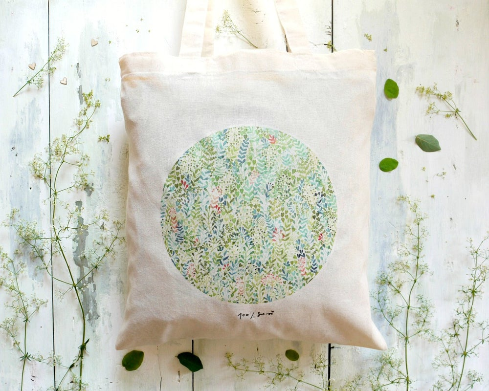 Image of Tote bag - The circle of nature
