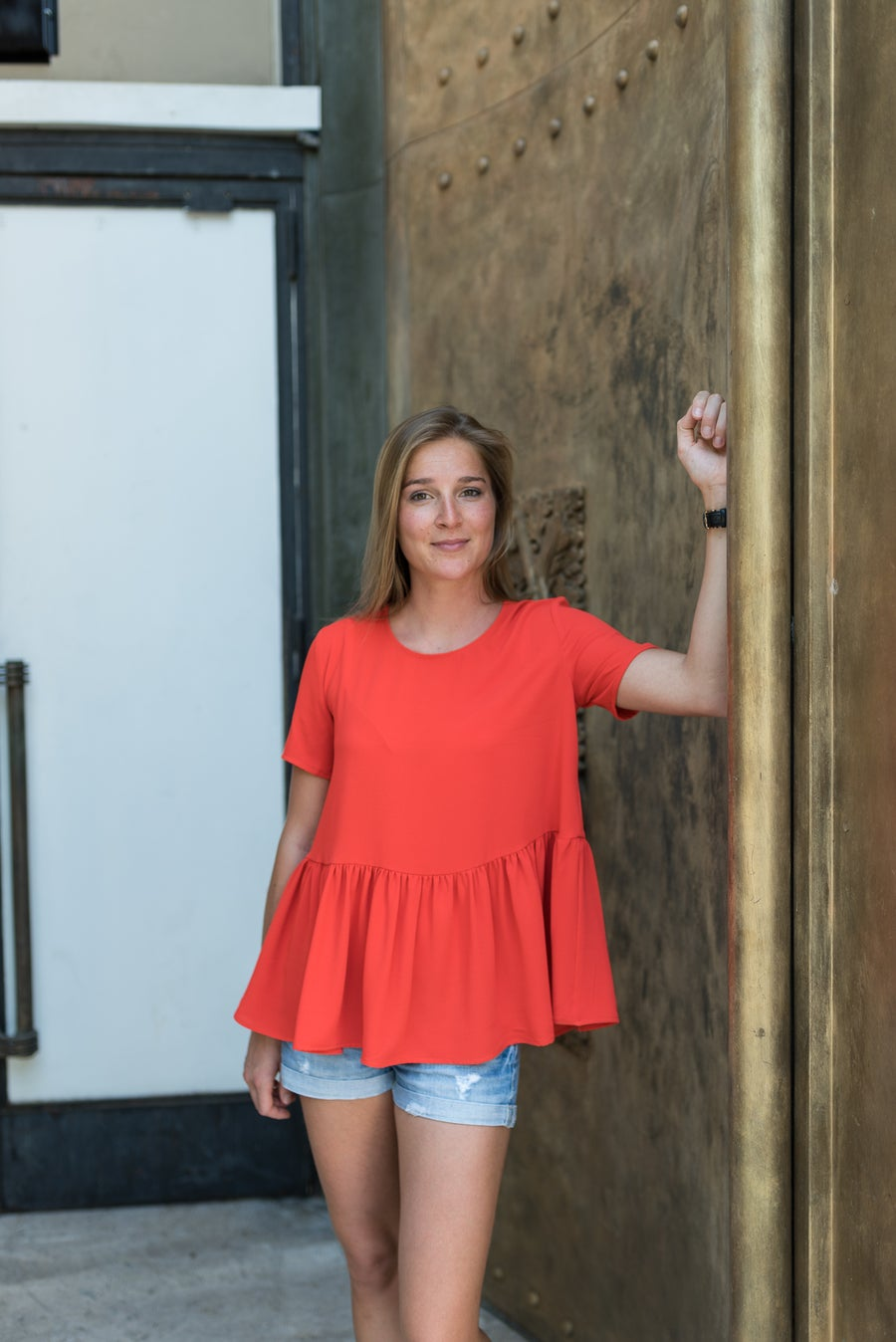 Image of BLOUSE LOLA - ROUGE