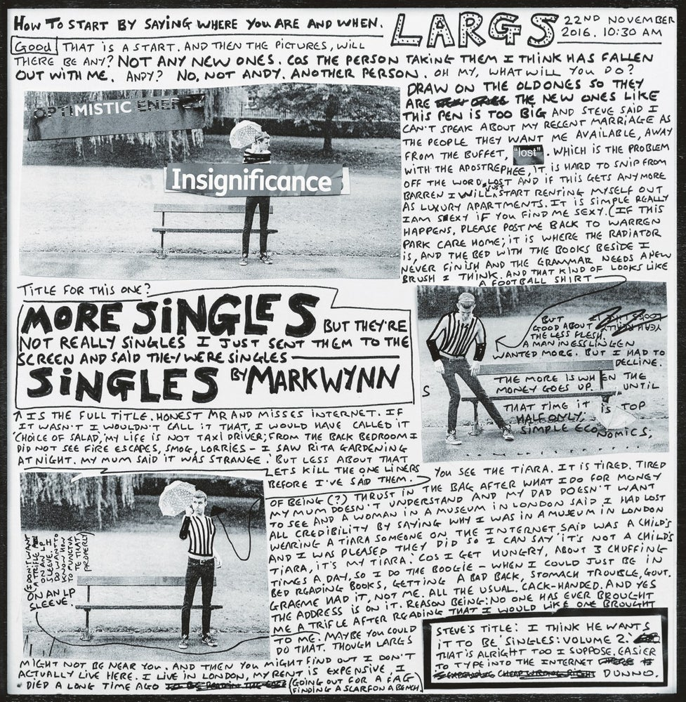 Image of MARK WYYN - More Singles....LP