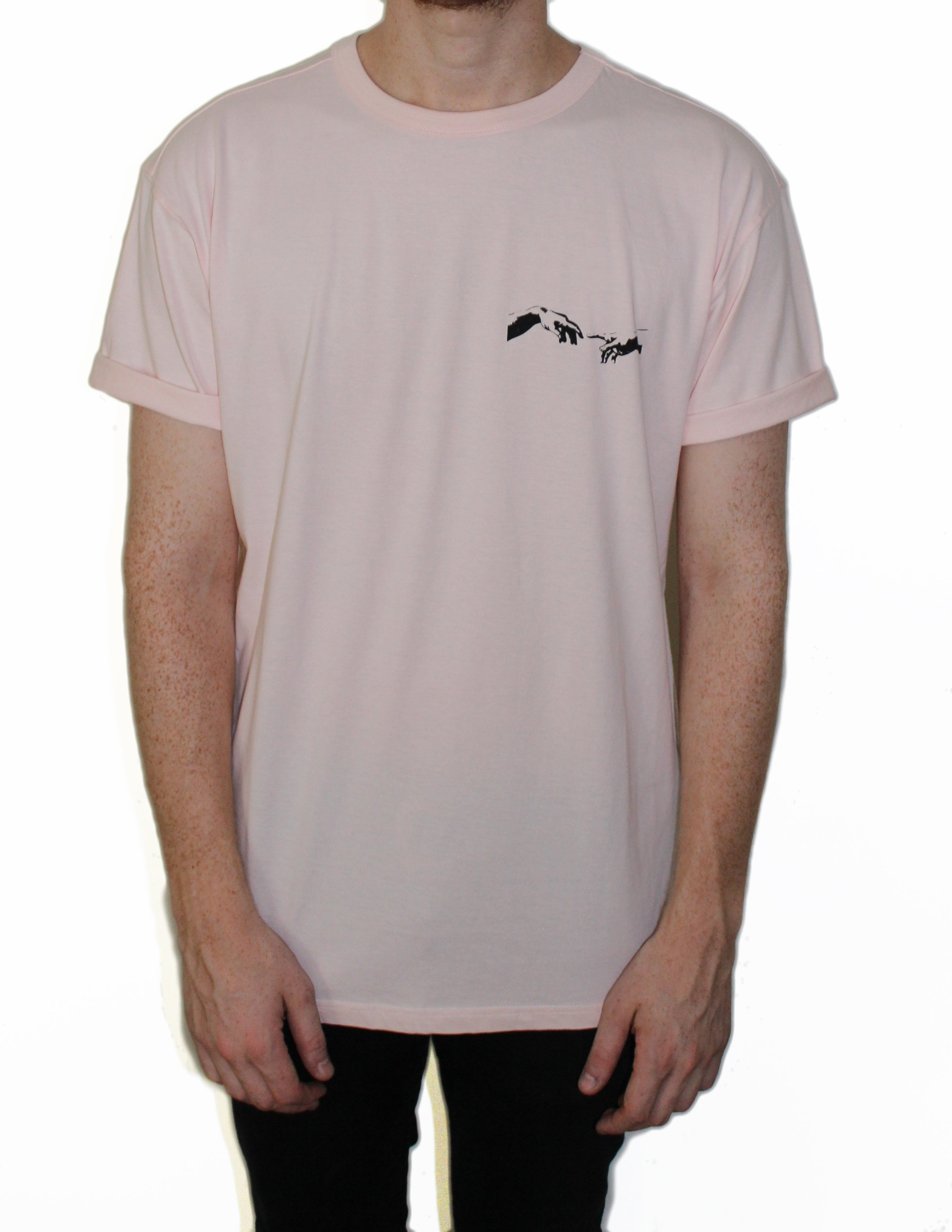 Majestik — Soft Pink T-Shirt