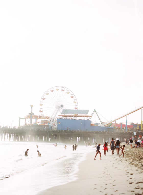 Image of santa monica summer