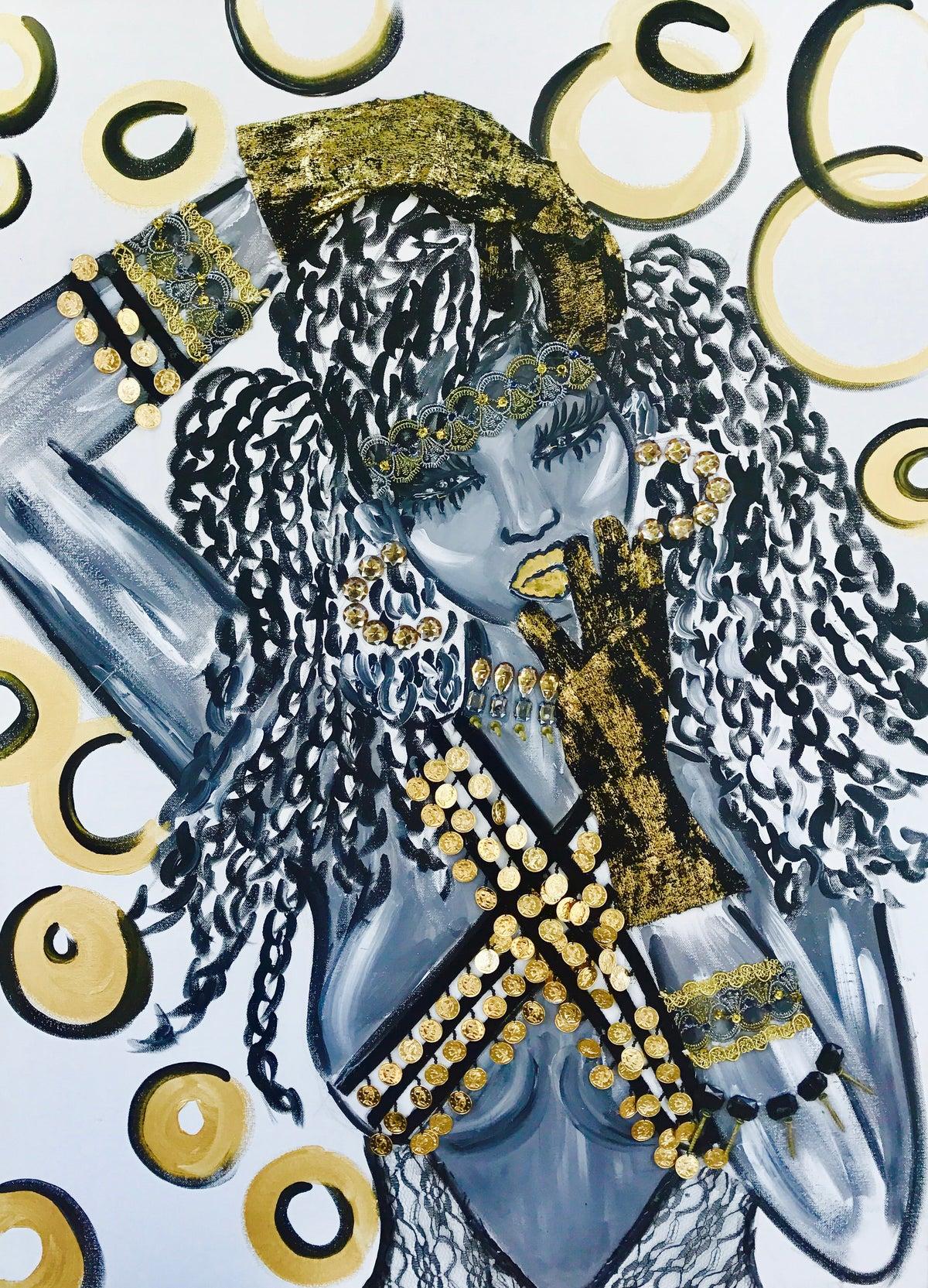 "Image of ""Gypsy Goddess"" FINE ART PRINT"