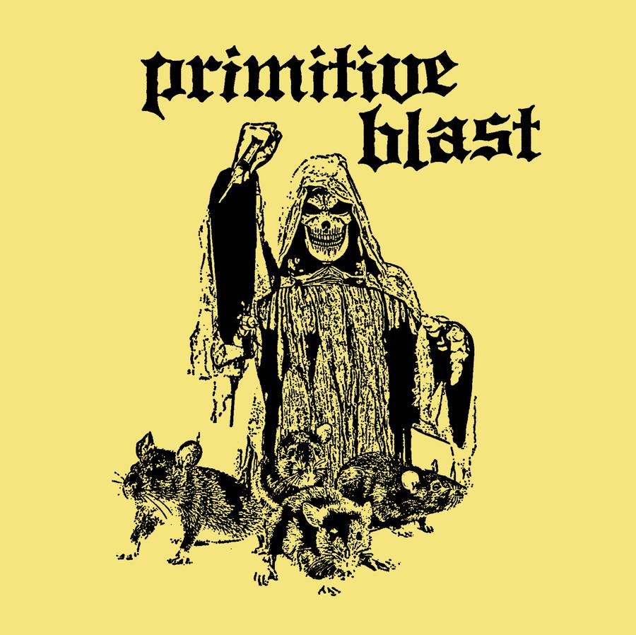 "Image of Primitive Blast ""S/T"" 7"""