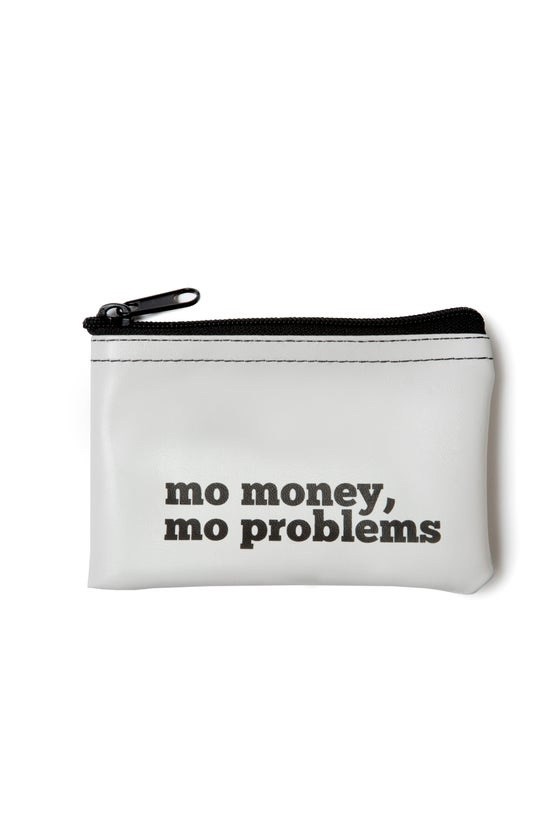 Image of Mo Money, Mo Problems vinyl zip pouch