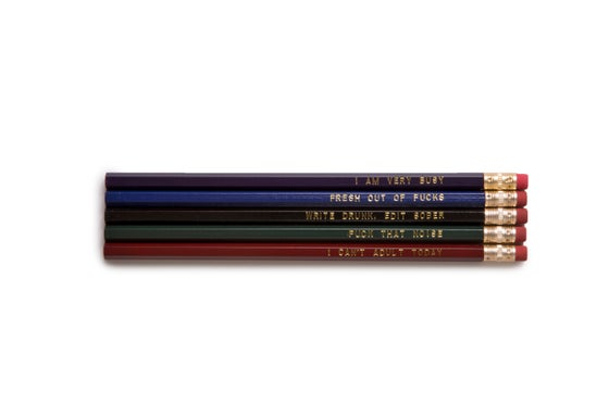 Image of Office Pencil Set