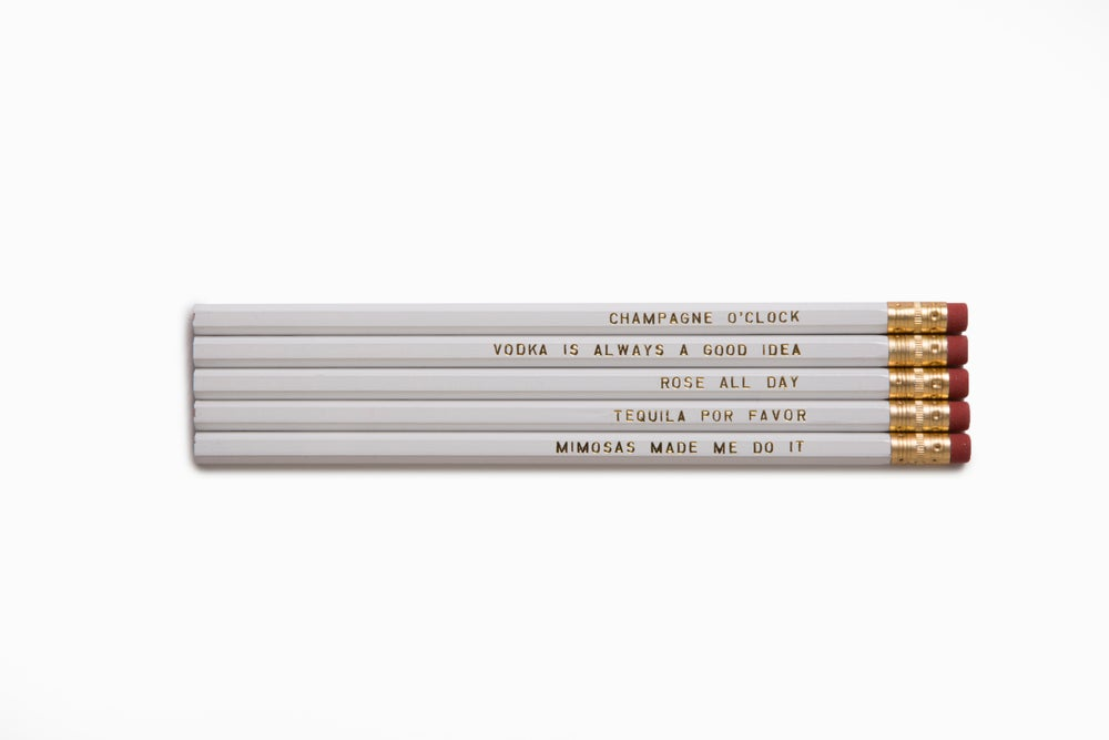 Image of Beverage Pencil Set