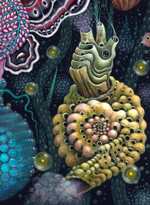 """Image of MICROVERSE IV - 16 X 16""""  Signed Open Edition"""