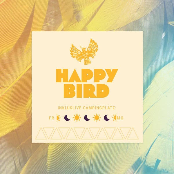 Image of Niemandsland Festival 017– Happy Bird