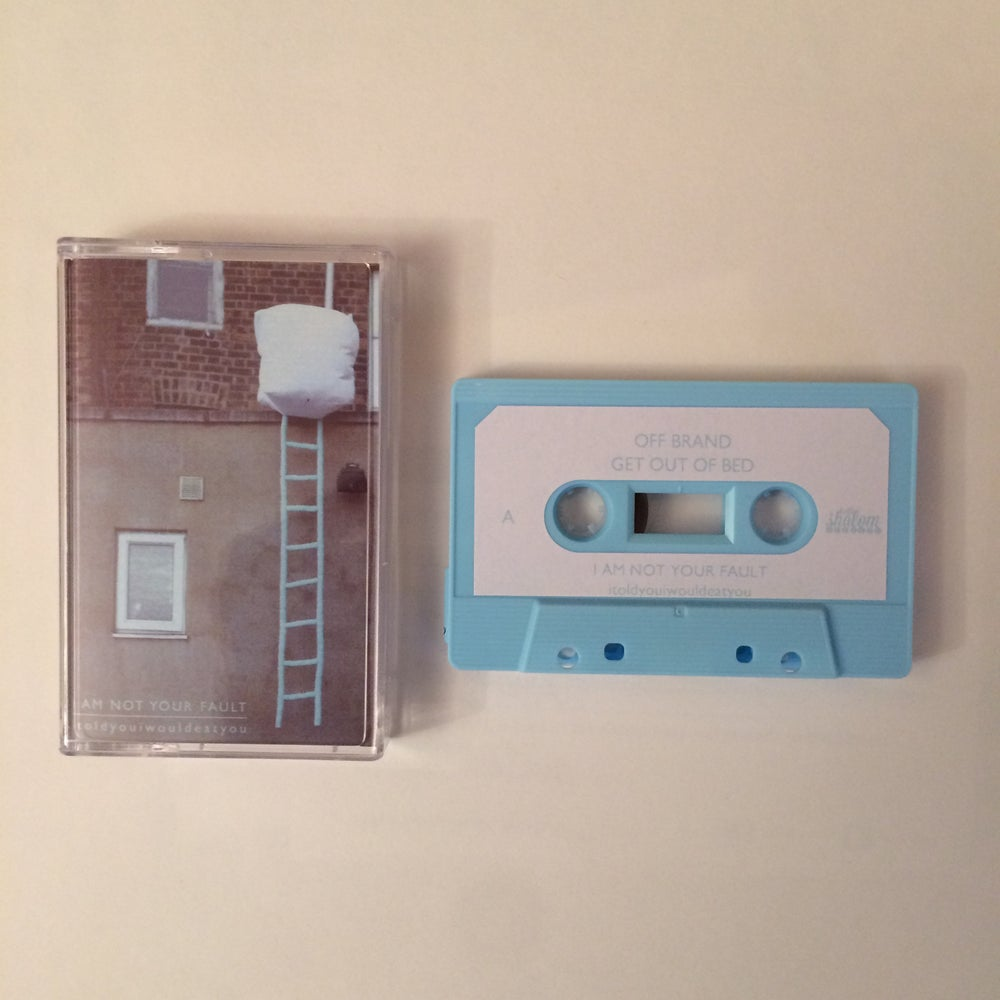 Image of itoldyouiwouldeatyou - I Am Not Your Fault EP - 2nd Press Tape
