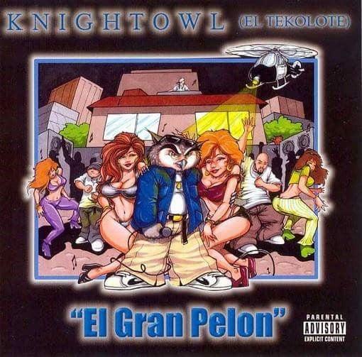 Image of Knightowl El Gran Pelon-CD