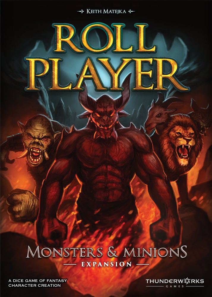 Image of Roll Player: Monsters & Minions Expansion Game Preorder