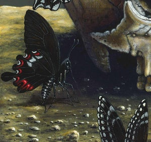 """Image of DARK ANGELS ~ 14 X 14"""" Signed Open Edition"""