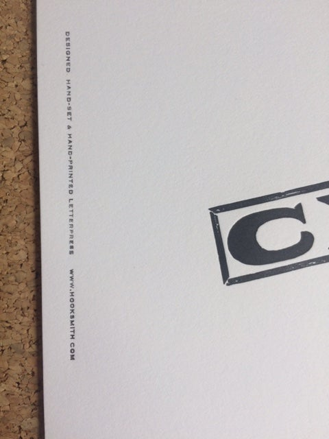 Image of Cheeky half print by Hooksmith Press
