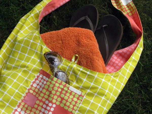 Image of Boho Shoulder Bag Sewing Pattern