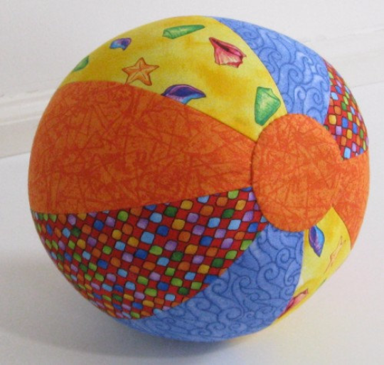 Image of Quilted Beach Ball Sewing Pattern