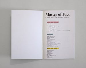Image of Matter of Fact