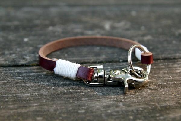 Image of Leather Wrap Wristlet