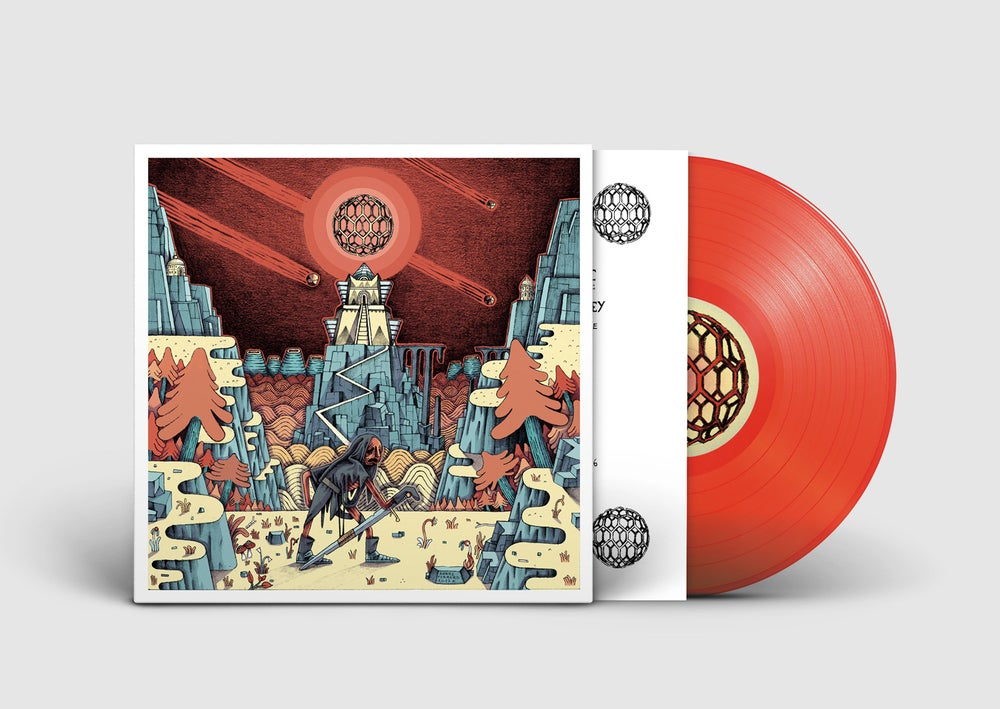 Image of SLIFT - Space Is The Key (Red Vinyl)