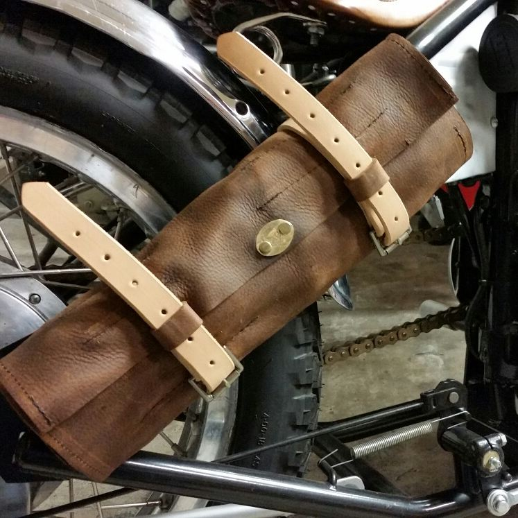 Image of LEATHER TOOL ROLL