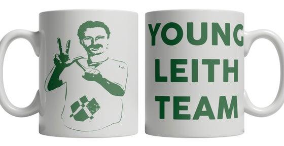 Image of YLT, Young Leith Team, Hibs, Hibernian, Begbie Brand New Mug.