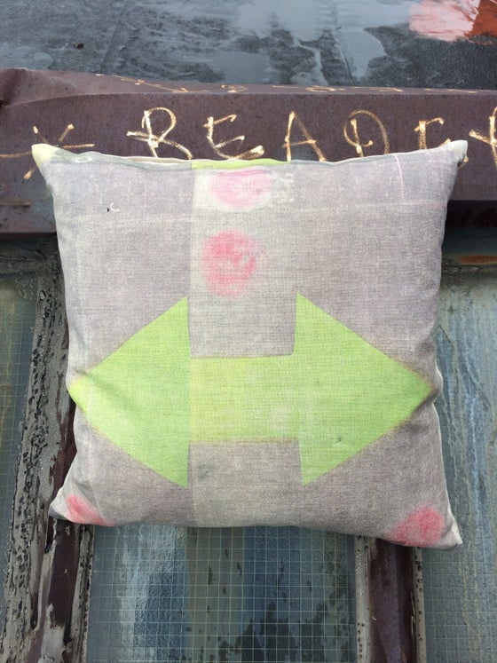Image of Pink Dot Pillow