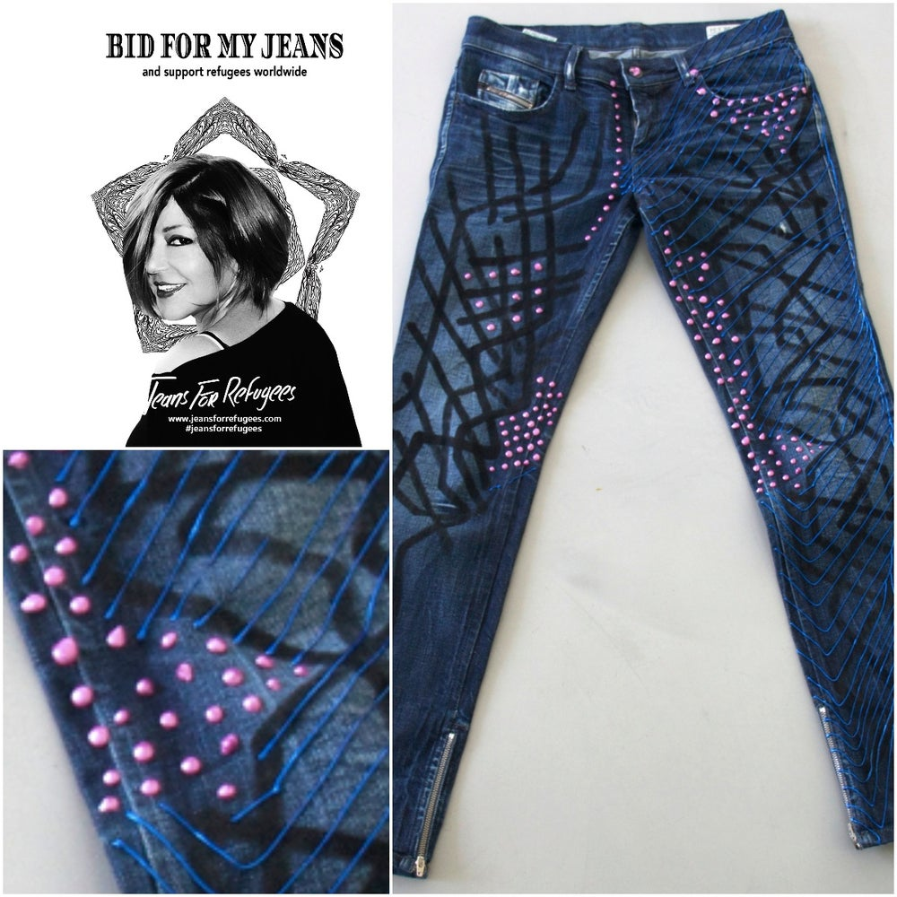 Image of Samira Said's Jeans For Refugees