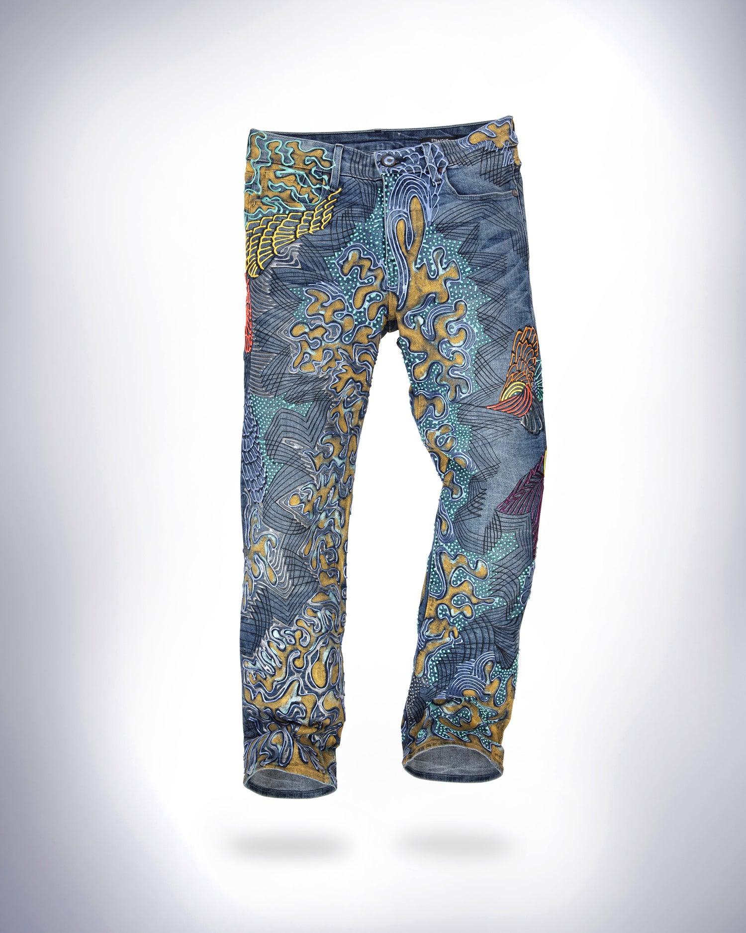 Image of Zoe Saldana's Jeans For Refugees
