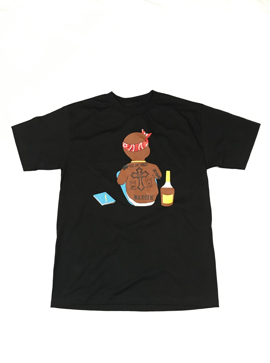 Image of Baby Pac Black Tee