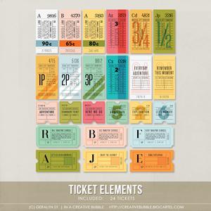 Image of Ticket Elements (Digital)