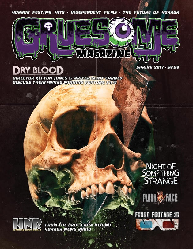 Image of Gruesome Magazine Spring 2017 Print Edition