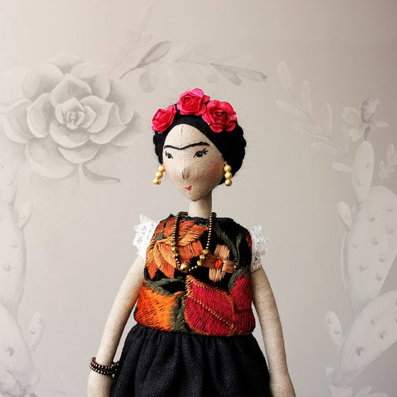 Image of FRIDA I - ART DOLL