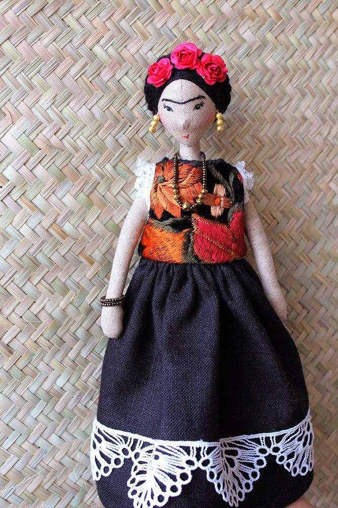 Image of FRIDA I - ART DOLL