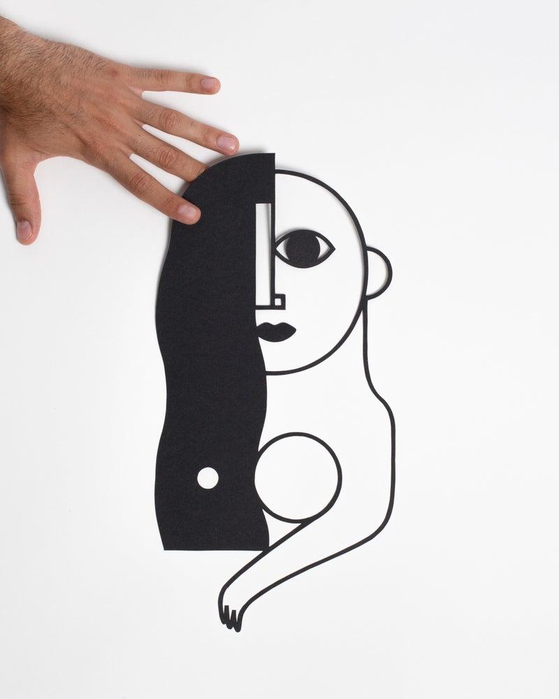 Image of PAPERCUT TRIBE WOMAN