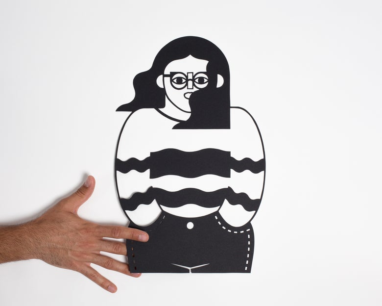 Image of PAPERCUT SWEATER GIRL