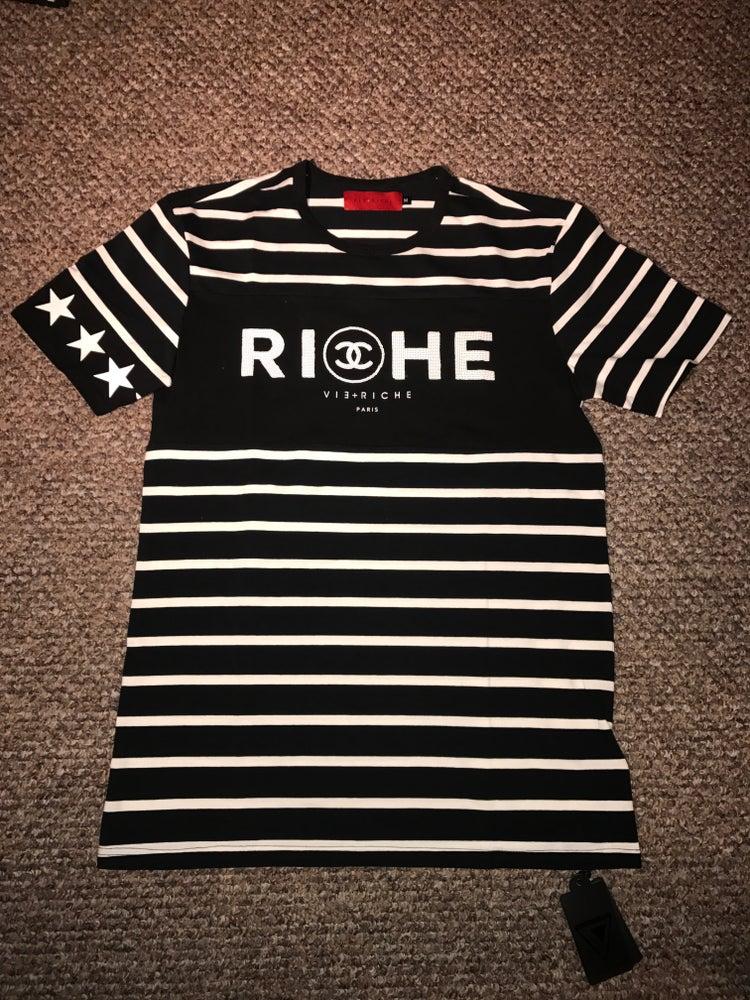 """Image of Vie + Riche """"Double C"""" Tee"""