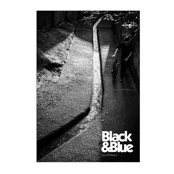 Image of Black And Blue Zine #2