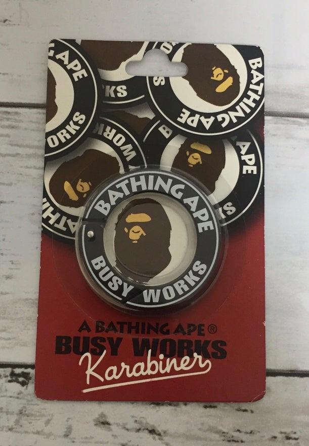 Image of Bape Exclusive Karabiner Key Loop Holder