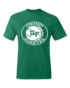 Image of EXCLUSIVE GREEN GRINDFOREVER TEE