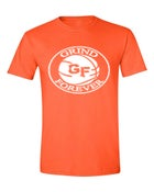 Image of EXCLUSIVE ORANGE GRINDFOREVER TEE