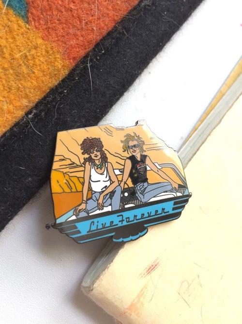 Image of Thelma & Louise enamel pin